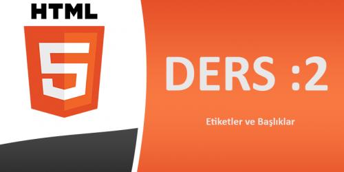Html Ders-2
